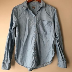 Aerie Thin Chambray Button Down
